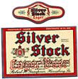 Silver Stock Lager Beer Label