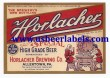 Horlacher Special Beer Label