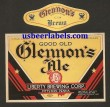Glennons Ale Beer Label