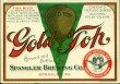 Gold Top Beer Label
