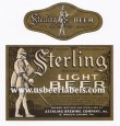 Sterling Light Beer Beer Label