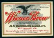 Wiener Brew Beer Label