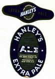 Hanleys Extra Pale Peerless Ale Beer Label