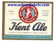Kent Ale Beer Label