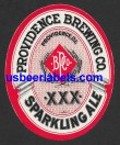 XXX Sparkling Ale Beer Label