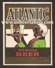 Atlantic Pilsener Beer Label