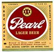 Pearl Lager Beer Label