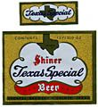 Texas Special Beer Label