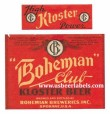 Bohemian Club Kloster Beer Label