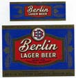 Berlin Lager Beer Label