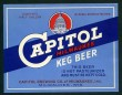 Capitol Keg Beer Label
