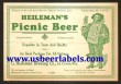 Heilemans Picnic Beer Beer Label
