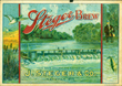 Steger Brew Beer Label