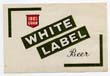 White Label Beer Label